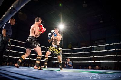 Fight 3 - Chris Godden v Jamale Abdallah