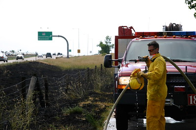 C-470 & University Small Brush Fire