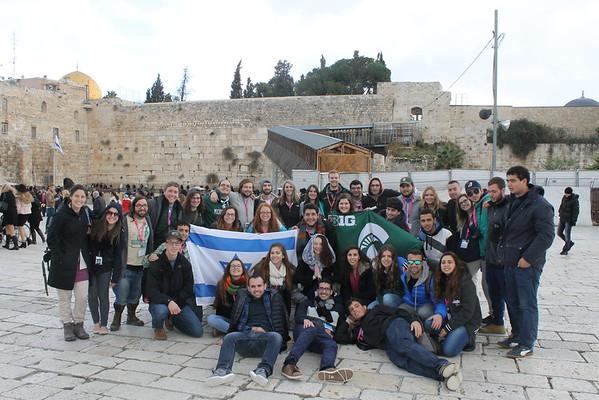 Birthright Israel - Dec 2015 / Jan 2016 - Bus 1284