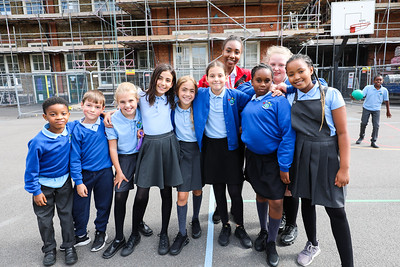 Sebright Primary School Playground - City Year UK