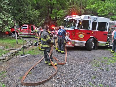 5-15-12 Mutual-Aid Structure Fire, Garrison
