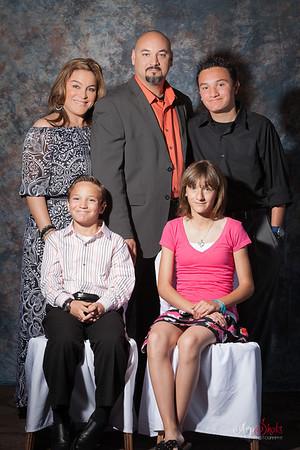 Gabriela 1st Holy Communion Family Portraits