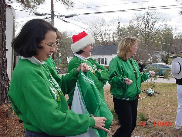 2002-12-14: Cary Christmas Parade