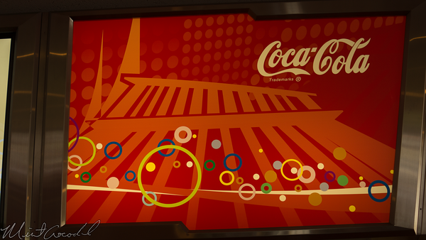 Disneyland Resort, Tokyo Disneyland, Tomorrowland, Space Mountain, Tomorrowland Terrace, Coca Cola, Coke