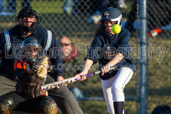 Mt Tabor Spartans vs  N Davidson War Eagles Women's Varsity Softball 3/22/2013