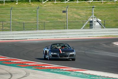 #7 Gray Audi