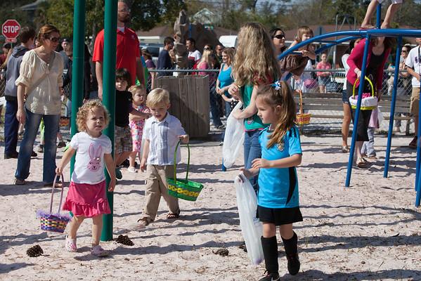 Easter Egg Hunt at Swenson Park 3-30-2013