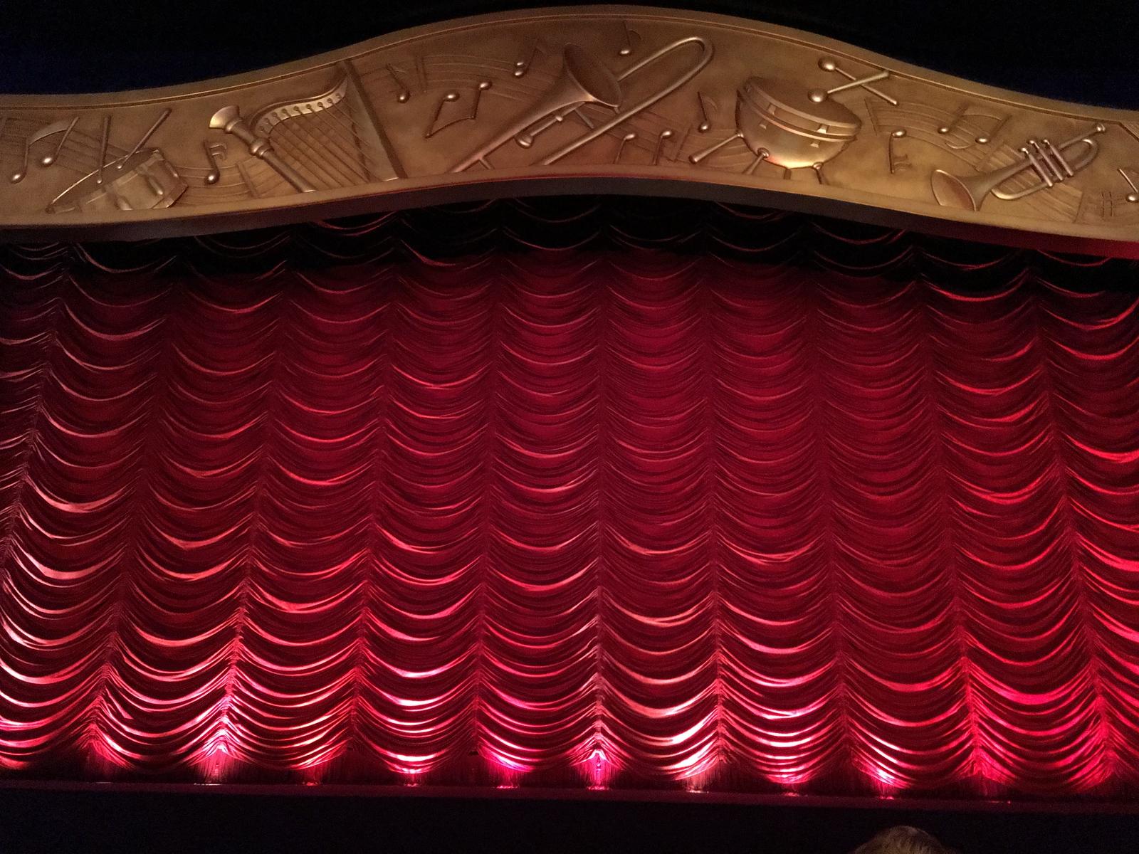 PhilharMagic Curtain - Walt Disney World Magic Kingdom