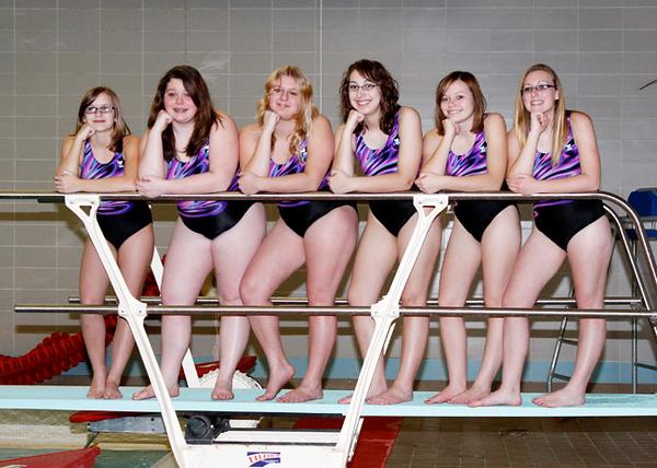 SNHS Swimming Team 2011-2012