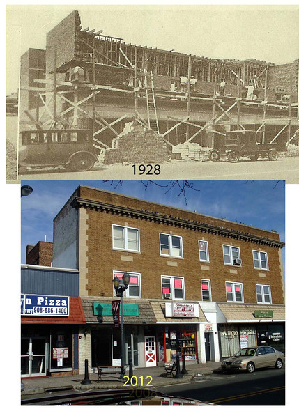 On the west side of Stuyvesant Ave. next to Brooklyn Pizza this building was under construction in 1929. #1020