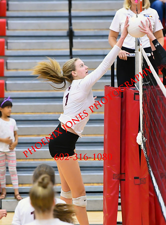 10-28-19 - Liberty v Mountain Ridge - Volleyball Match