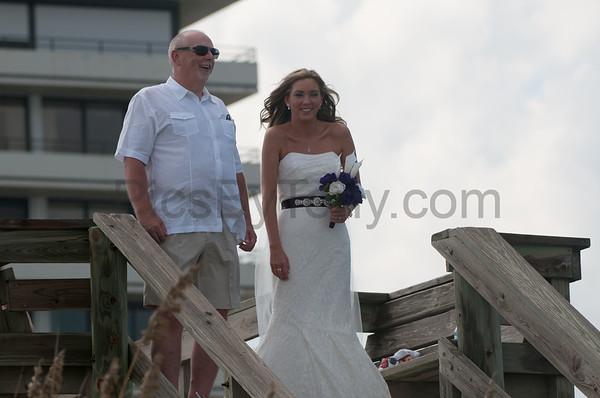 Wedding on Flagler Beach on Sept 30, 2016