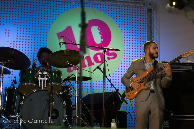 Donald Harrison and Zulu Connection Bourbon Street Fest 2012