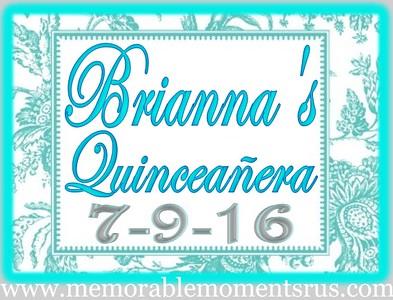 Brianna's Quinceañera