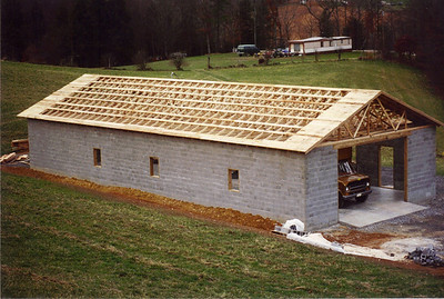 Building the Garage