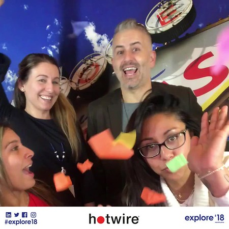 Explore '18 | Hotwire Slow Motion Booth