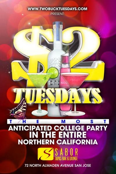 Amir & Galaxy Events presents $2 Tuesdays @ Sabor Tapas Bar & Lounge 11.02.10