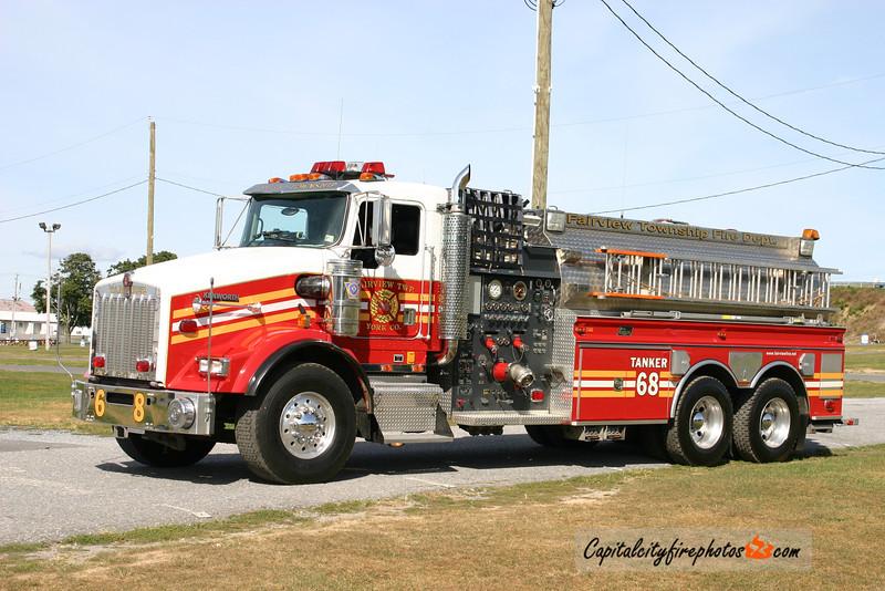Fairview Township Tanker 68: 2002 Kenworth/New Lexington 500/3000
