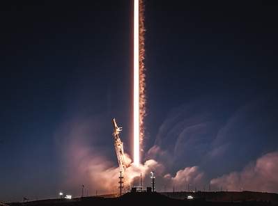 SpaceX Falcon 9 PAZ Feb. 22, 2018