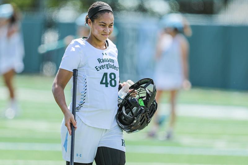 Ransom Everglades Girls Lacrosse vs. Martin County High School, 2019