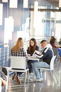 2019 UWL PSSC Vanguards Students Studying