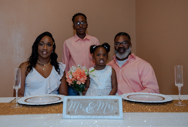 Mr. And Mrs. Anthony & Tracy Toler