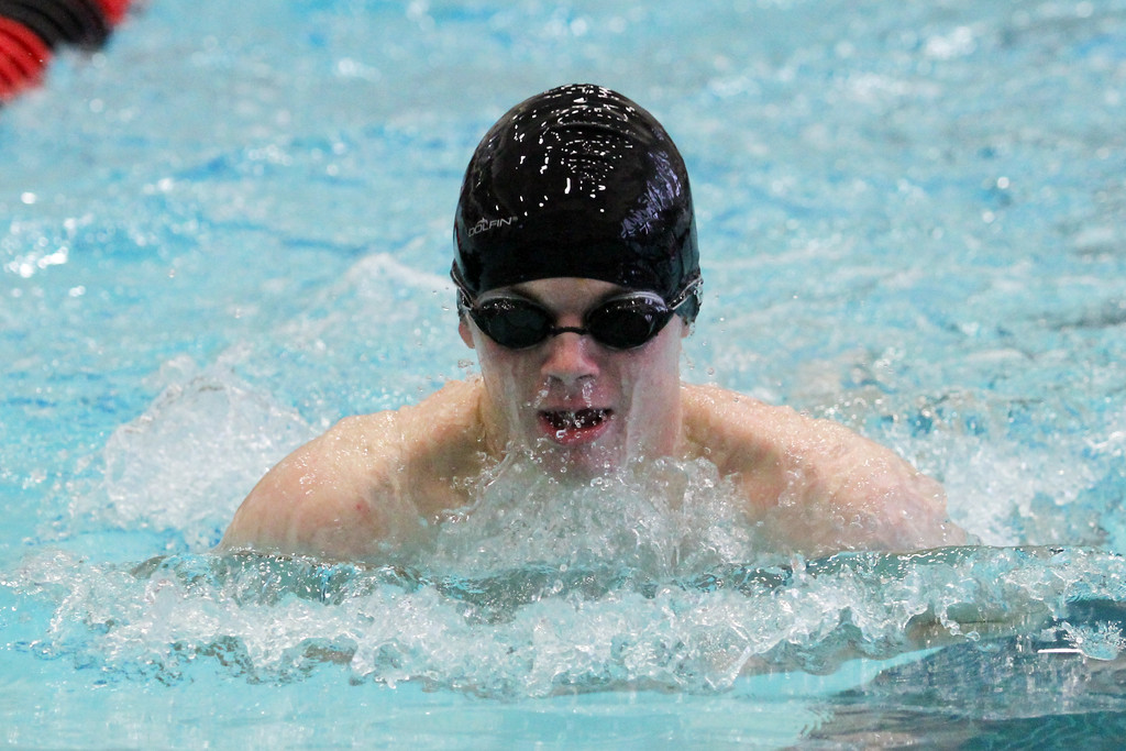 . Barry Booher - The News-Herald Mark Silver ( Riverside ) 200 yards medley relay.