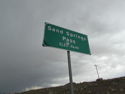 NV- Sand Springs Pass