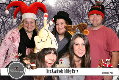 Bird And Animal Holiday Party 2016