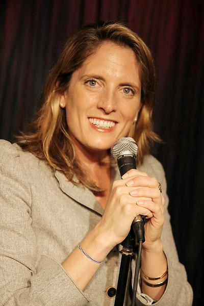 Leslie Wolff on stage