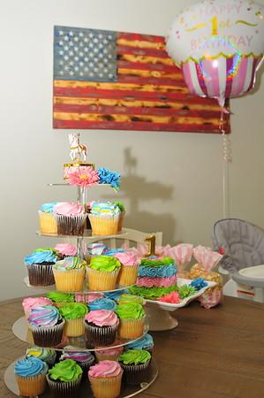 Aubrey Lynn 1st Birthday