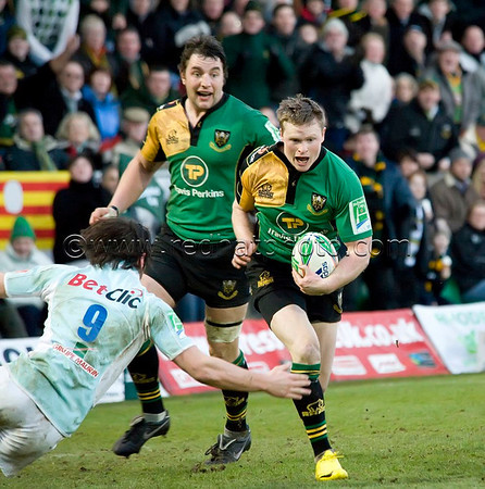 Northampton Saints vs Perpignan, Heineken Cup, Franklin's Gardens, 17 January 2010