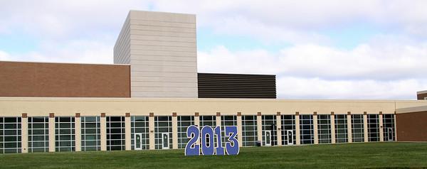 Rachel SCHS Graduation, '13