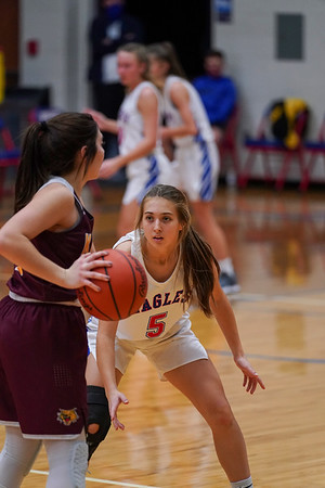 LB Girls' Basketball vs Kalida (2021-01-09)