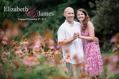 Elizabeth and James: Engaged December 4th, 2019