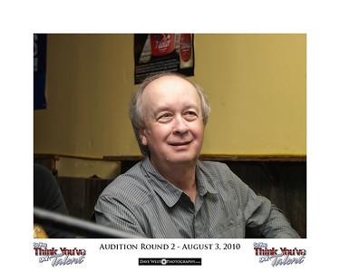 Audition Round 2 - August 3, 2010