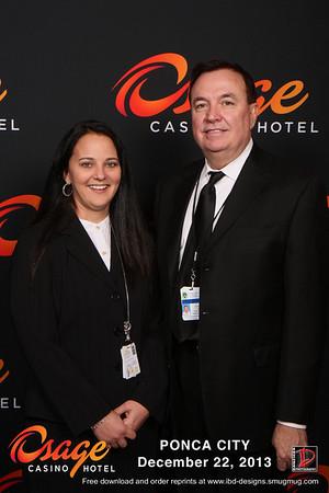Ponca City Casino-Hotel Grand Opening 12-22-13