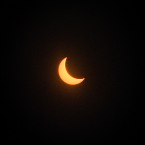 Eclipse over Memphis, TN