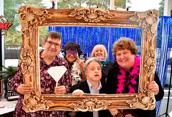 10/11/2019 Mike Orazzi | StaffrThe photo booth at the Bristol ARC gala held at the DoubleTree Hotel in Bristol on Friday evening.