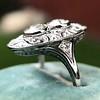 1.75ctw Edwardian Toi et Moi Old European Cut Diamond Ring  13