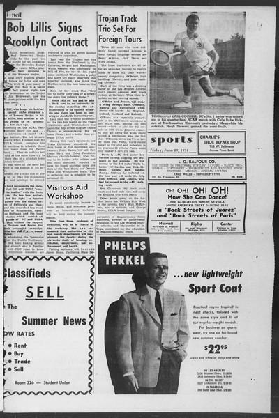 Summer News, Vol. 6, No. 2, June 29, 1951