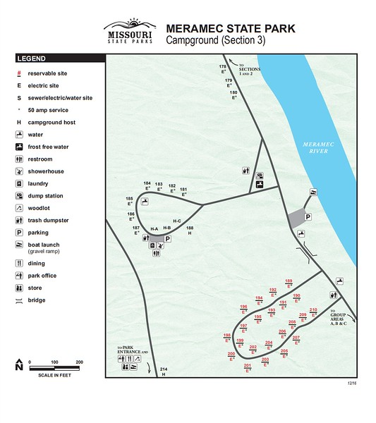 Meramec State Park (Campground Section #4)