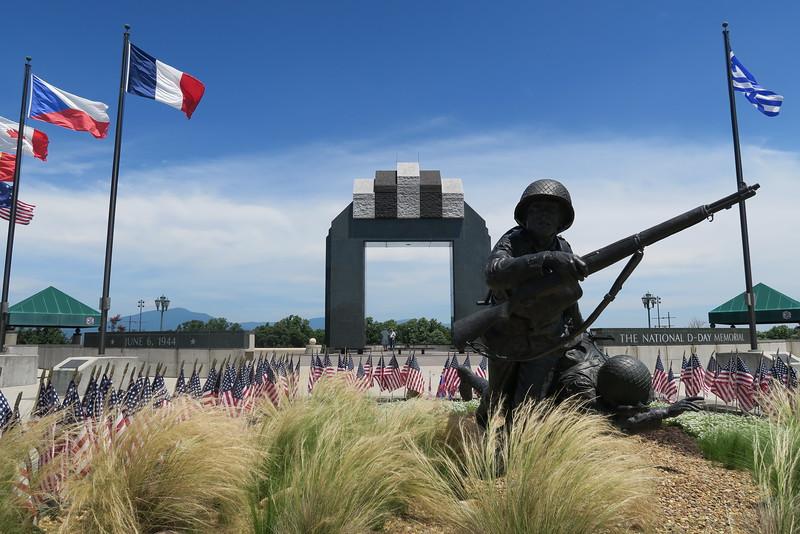 "Estes Plaza - ""Valor, Fidelity, Sacrifice"""