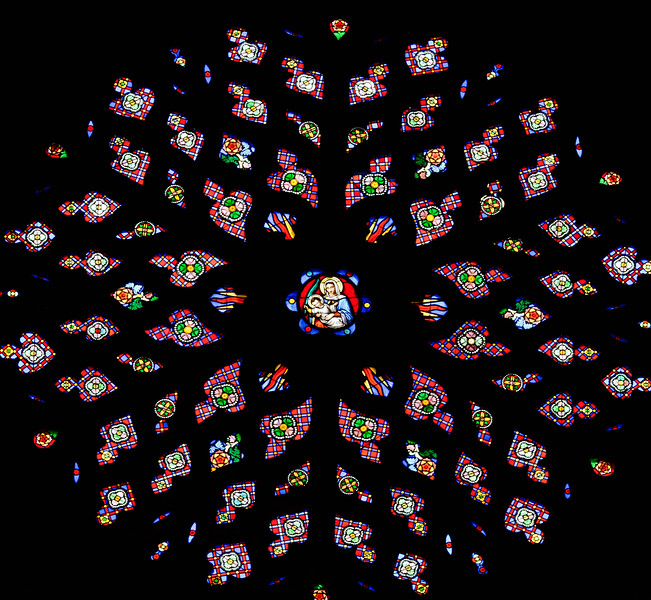 Rodez, Notre-Dame Cathedral Rose Window