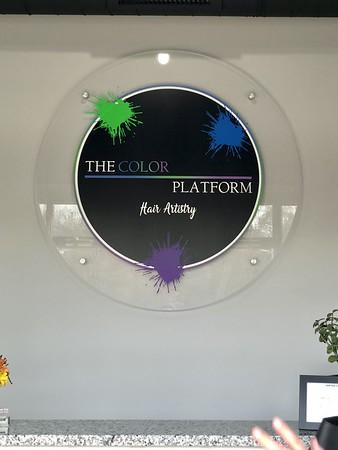 The Color Platform Sign