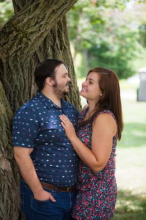 West Michigan Couples Portrait Session Charlie + Allie Anniversary