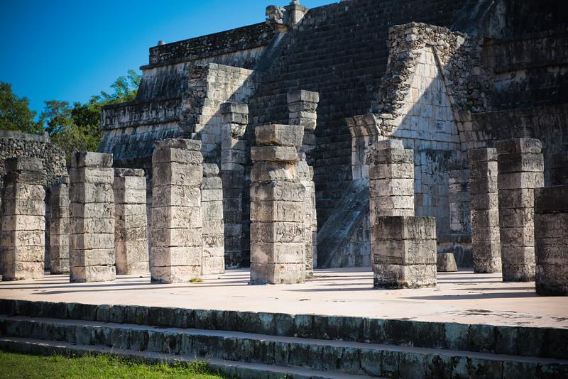 Templo de los Guerreros, Chichén Itzá