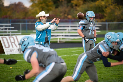10-16-20 Garber Varsity Football - Homecoming