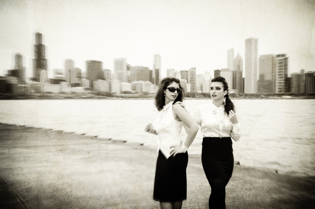Chicago Portrait - Ruth and Becca