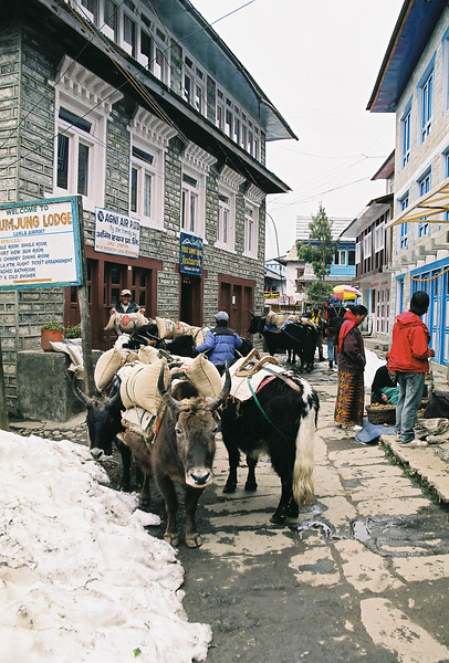 The streets of Lukla